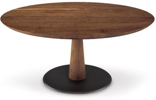 Diamante (wood) round dining table
