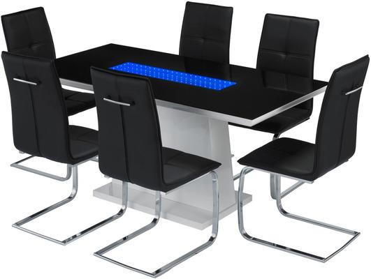 Curix (LED) dining table image 5