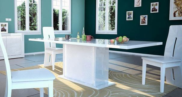 Karma extending dining table (with lighting) image 5
