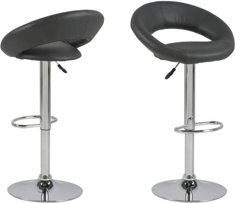 Angala bar table and pluma barstools image 4