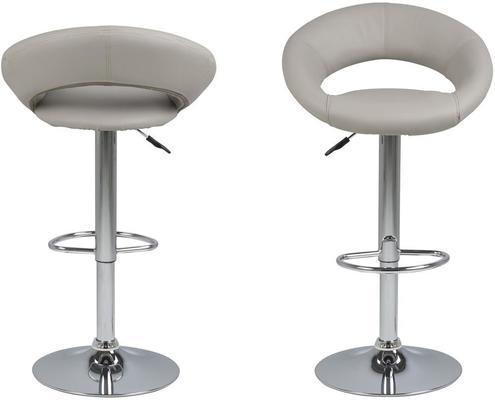 Angala bar table and pluma barstools image 7
