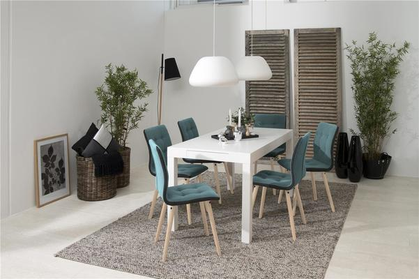 Angala dining table and Fridi chairs image 2