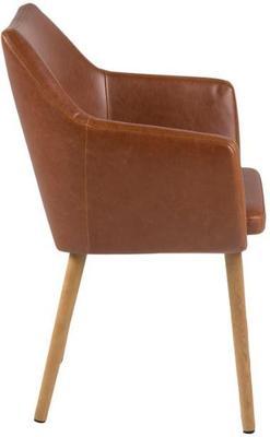 Nagane round table and 4 Nori chairs image 6