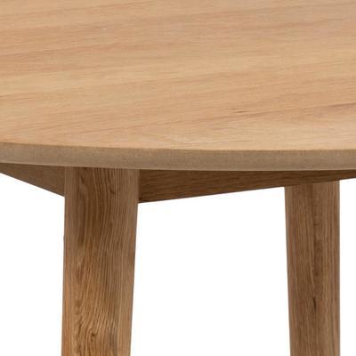 Nagane round table and 4 Nori chairs image 9