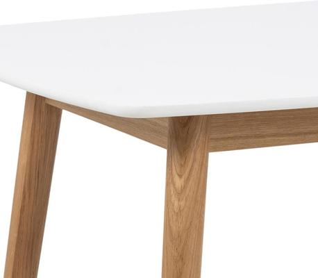 Nagane dining table and Nori (fabric) chairs image 7
