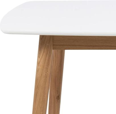 Nagane dining table and Nori (fabric) chairs image 9