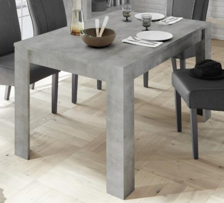 Como 137cm Dining Table with 48cm Extension - Grey Finish