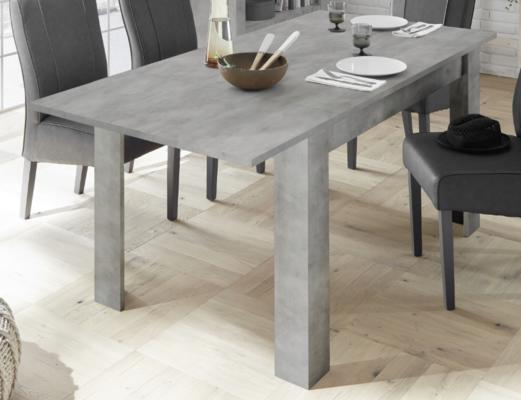 Como 137cm Dining Table with 48cm Extension - Grey Finish  image 2