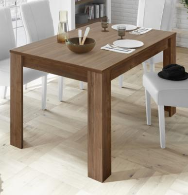 Como 137cm Dining Table with 48cm Extension - Walnut Finish