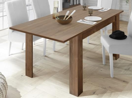 Como 137cm Dining Table with 48cm Extension - Walnut Finish image 2