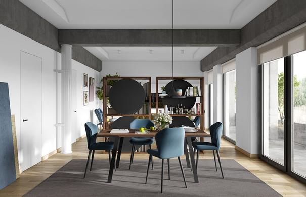 Drift dining table image 10