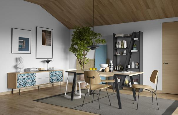Drift dining table image 12