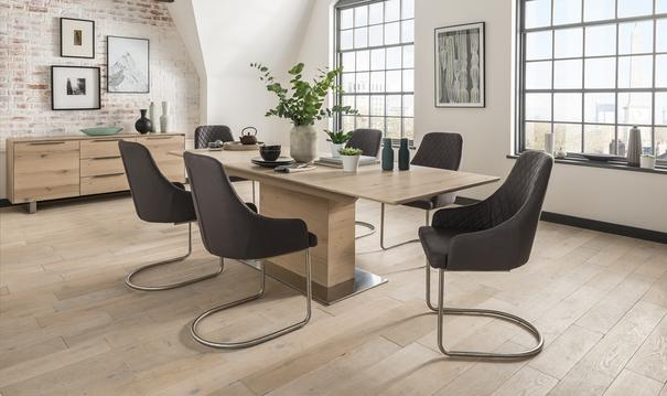 Bayern extending dining table image 3