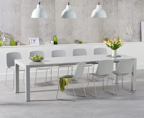 Oregon extending dining table image 7