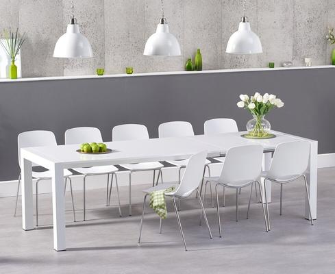 Oregon extending dining table image 8