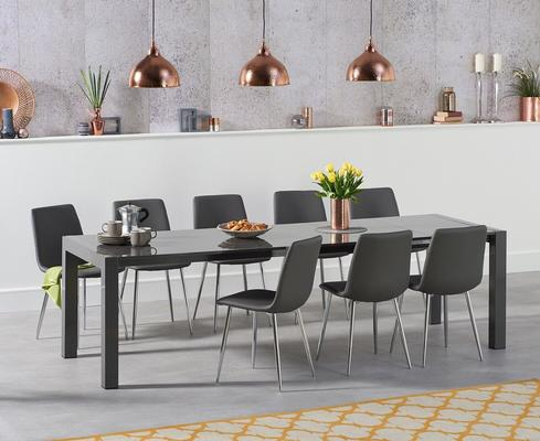 Oregon extending dining table image 9