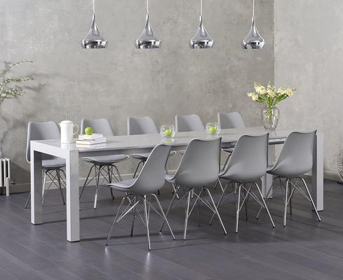 Oregon extending dining table image 10