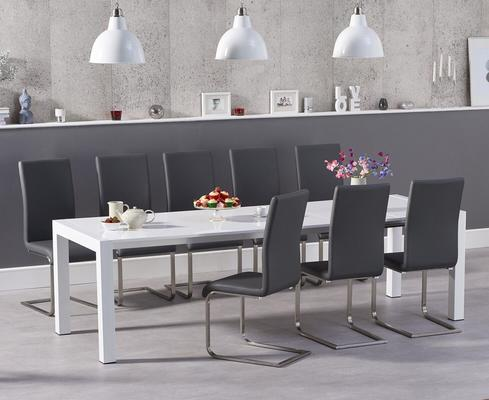 Oregon extending dining table image 11