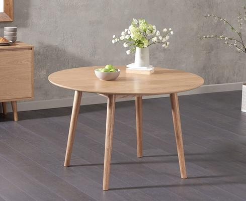 Harstad Oak round dining table