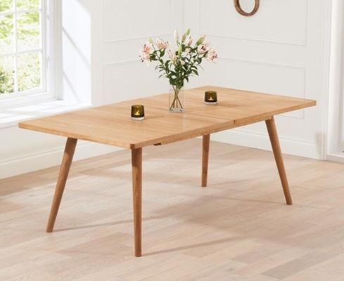 Staten Oak extending dining table