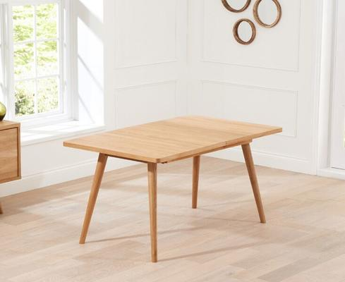 Staten Oak extending dining table image 3