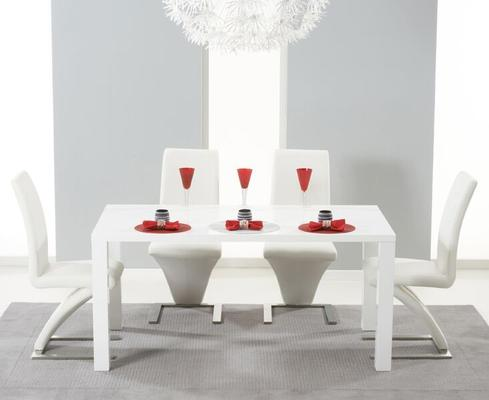 Brockton rectangular dining table image 3