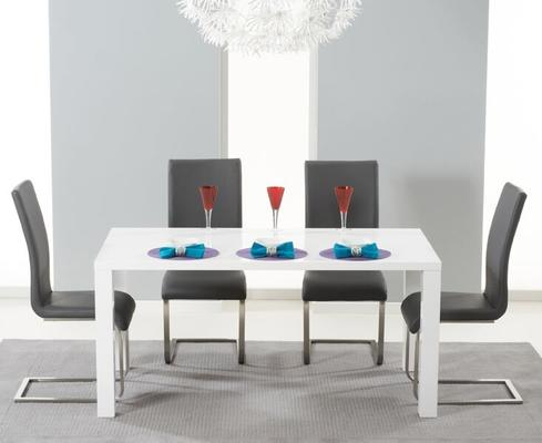 Brockton rectangular dining table image 4