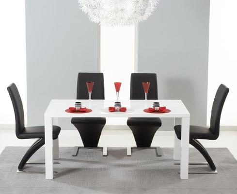 Brockton rectangular dining table image 5