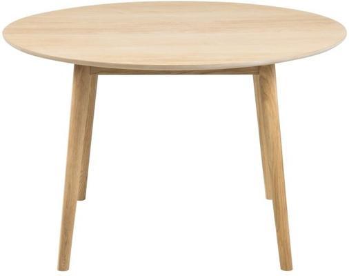 Nagane round Oak dining table (Sale)