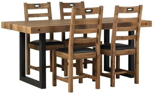New York dining table and chairs