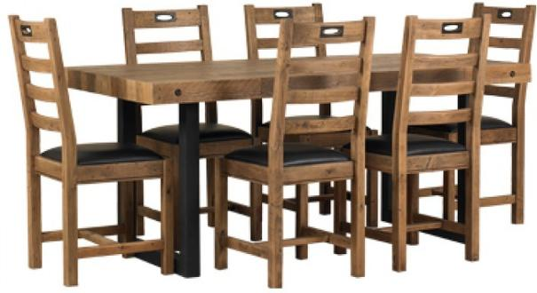 New York dining table and chairs image 2