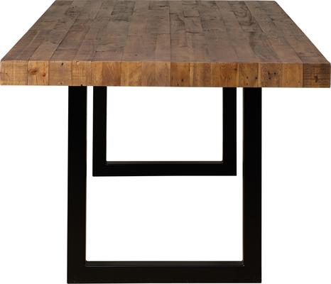 New York dining table with 4 chairs and bench image 6