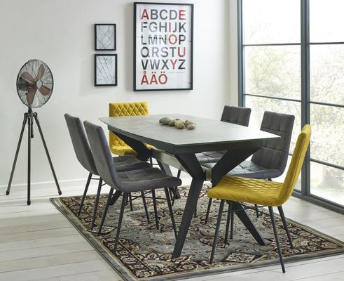 Soho extending dining table image 6