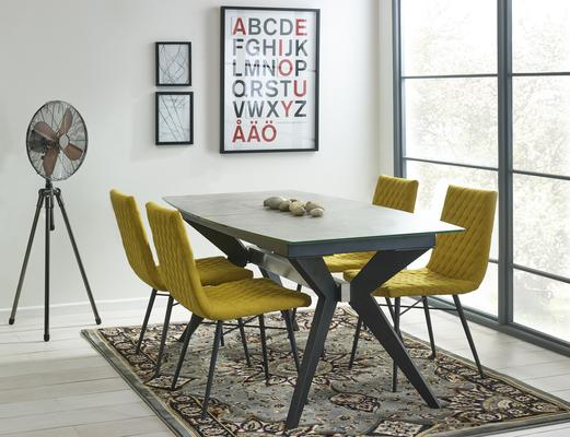 Soho extending dining table image 8