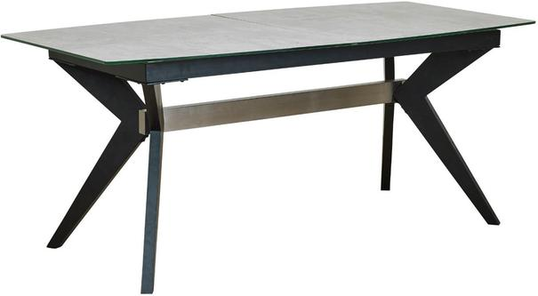Soho extending table with 4 Dalston chairs image 5