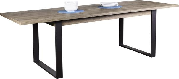 Manhattan Extending Dining Table - New Aged Oak  Finish