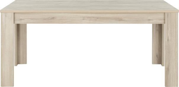 Albin Extending Dining Table 180-228cm - Light Oak Finish image 2