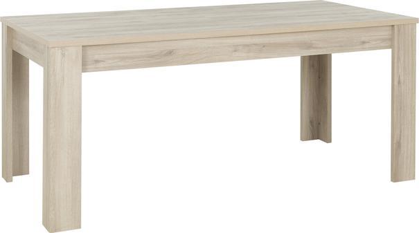 Albin Extending Dining Table 180-228cm - Light Oak Finish
