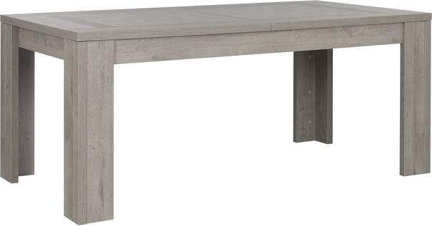 Boston Extending Dining Table 181 - 226cm - Light Grey Oak Finish