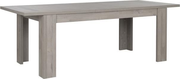 Boston Extending Dining Table 181 - 226cm - Light Grey Oak Finish image 2