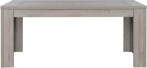Boston Extending Dining Table 181 - 226cm - Light Grey Oak Finish image 3