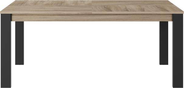 Clay Extending Dining Table 180 - 237cm - Light Natural Oak Finish image 3