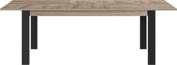 Clay Extending Dining Table 180 - 237cm - Light Natural Oak Finish image 4