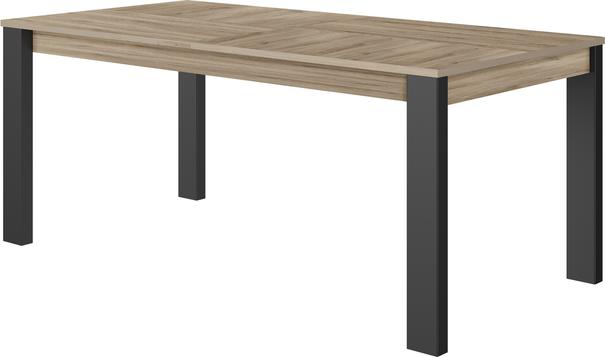 Clay Extending Dining Table 180 - 237cm - Light Natural Oak Finish image 5