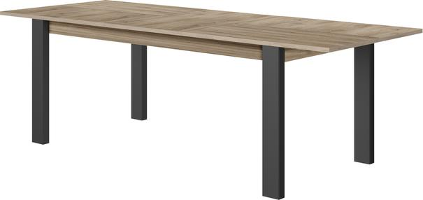 Clay Extending Dining Table 180 - 237cm - Light Natural Oak Finish image 6