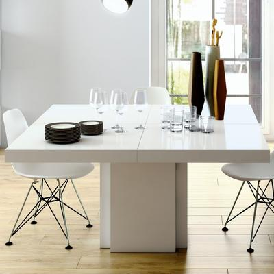Dusk 1.3m square dining table (Sale) image 6