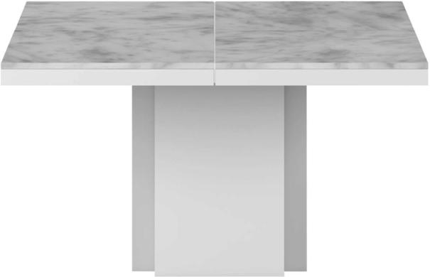 Dusk (marble) square dining table
