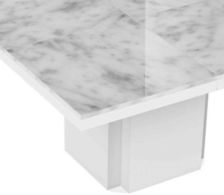 Dusk (marble) square dining table image 5