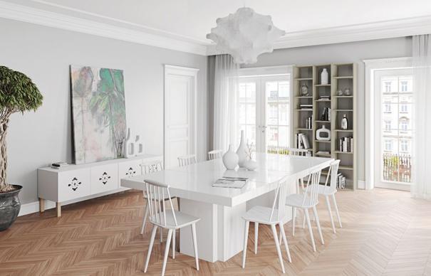 Dusk dining table image 7