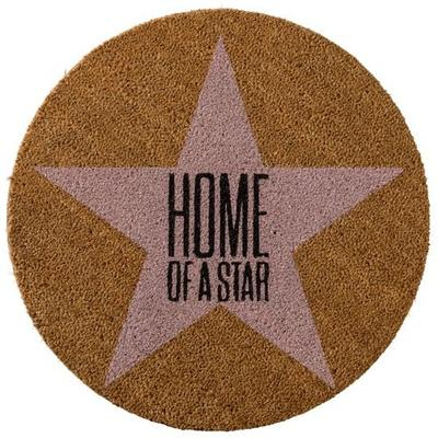 Bloomingville 'Home of a Star' Round Doormat image 2